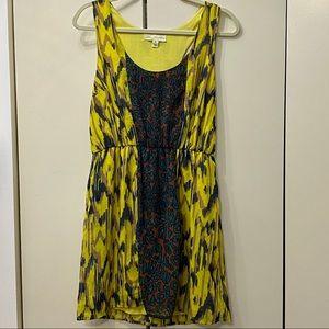 Leopard 🐆 Ikat pattern dress
